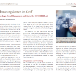 HOCHTIEF AG: Legal Spend Management Case Study
