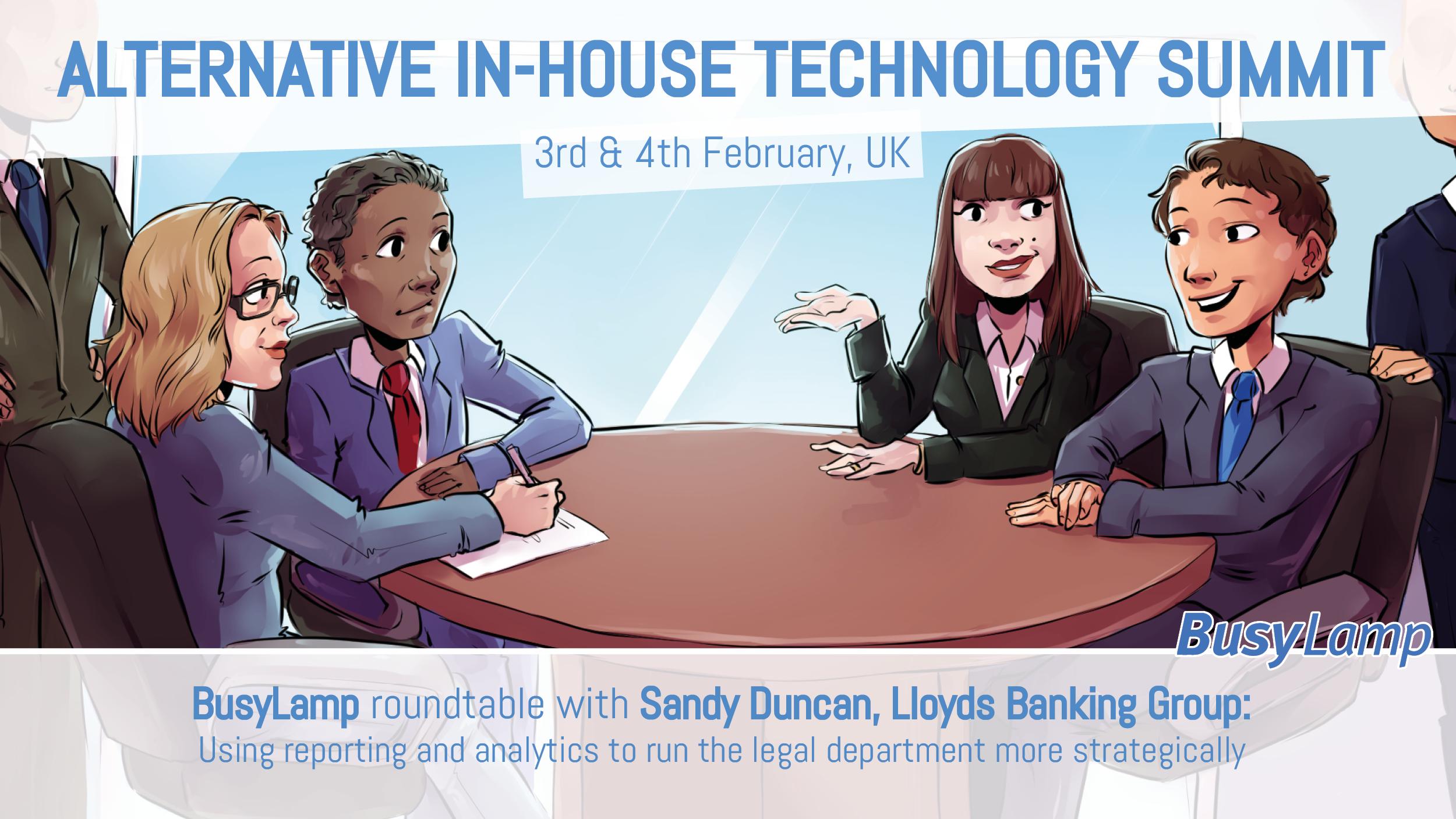 Alternative In-House Technology Summit BusyLamp