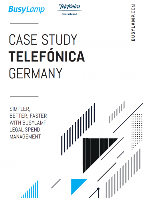 Telefónica Germany Using BusyLamp for Legal Operations Improvements