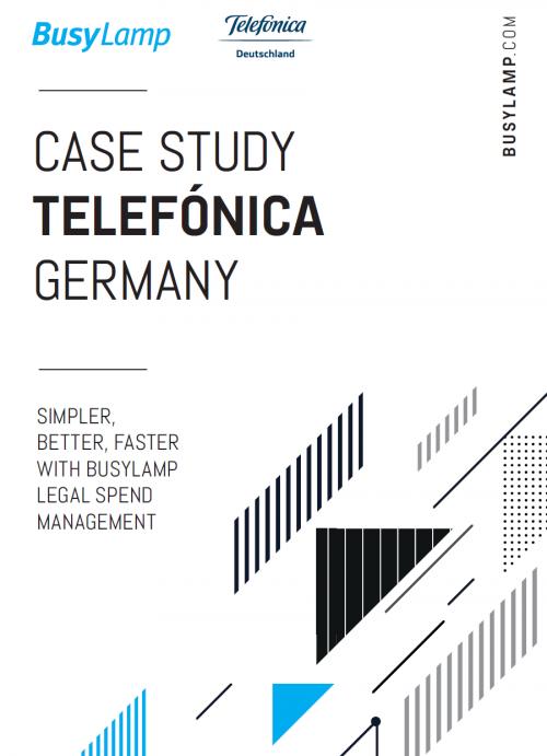 Telefonica Legal Spend Management Case Study